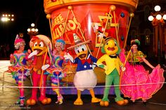Meeting the Three Caballeros