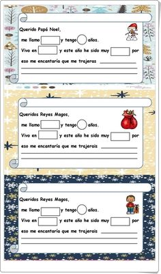 """Cartas a Papá Noel y a los Reyes Magos"" Reyes, Letter To Santa, Interactive Activities, Teaching Resources, Wizards, Letters, Xmas, Papa Noel"