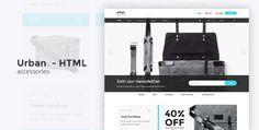 Urban Accessories - HTML E-Commerce Template