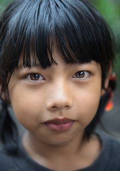Portrait of a Balinese girl