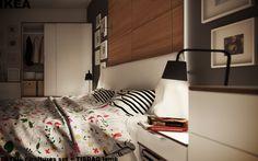 Custom Bedroom; Ikea Trysil white
