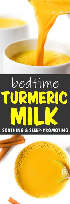 The Garden Grazer: Bedtime Golden Turmeric Milk (Vegan) [tumeric recipes Healthy Eating Tips, Healthy Nutrition, Healthy Drinks, Healthy Snacks, Healthy Recipes, Keto Snacks, Eating Vegan, Nutrition Shakes, Child Nutrition
