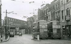 1960 Old st junction with Kingsland road #Shoreditch #Hackney
