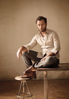 Sometimes, when I'm sad, I just look at photos of Jude Law. (That's not true. Or is it?)