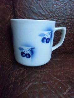 Krásný hrnek modré třešně (5354980339) - Aukro - největší obchodní portál