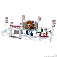 Big horse show by Schleich