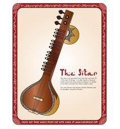 MUSIQUE - Présentation d'instruments de musique de l'Inde