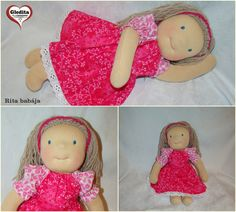 Waldorf doll by Anime Dolls, Waldorf Dolls, Hungary, Crochet Hats, Etsy Shop, Cartoon, Creative, Baby, Handmade