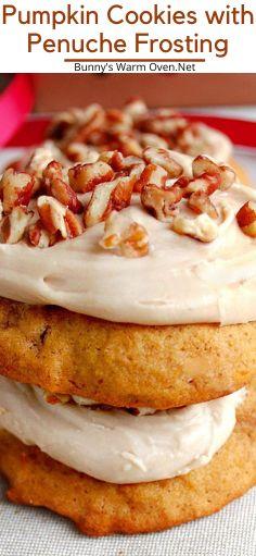 Pumpkin Cookies, Pumpkin Dessert, Pumpkin Cheesecake, Pumpkin Pumpkin, Pumpkin Recipes, Fall Recipes, Sweet Recipes, Holiday Recipes, Crinkle Cookies