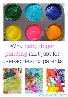 Everything You Need To Know About Finger Painting With Babies — CanDo Kiddo