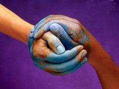 平和の握手