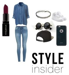 """Untitled #12"" by burdian on Polyvore featuring NIKE, Moshi, Brixton and Smashbox"
