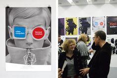 MoMA(华沙)海报:FONTARTE :: fonts :: design Poster Text, Design Logo, Exhibition Poster, Warsaw, Moma, Paper Design, Graphic, Illustration, Polaroid Film