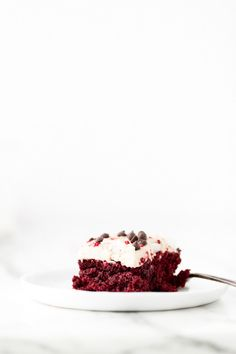Just Beet It Vegan Gluten-Free Red Velvet Cake | Beets work their magic in this moist, chocolaty, icing-slathered, and crimson-hued cake.