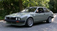 Alfa Romeo GTV-6. In think I might like to find a good one of these used.