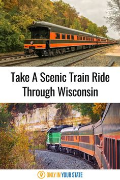 Take a scenic, relaxing train ride through Wisconsin. Enjoy beautiful river, waterfall, woodland, and bluff views. This is a great trip with friends or a family adventure. Wisconsin Attractions, Best Bucket List, Scenic Train Rides, Hidden Beach, Magical Forest, Train Tickets, Family Adventure, Natural Wonders, Vacation Ideas