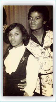 #FlashbackFriday moment with Janet and Michael Jackson