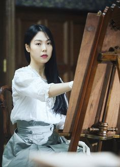 Kim Min-hee in 'Agasshi/The Handmaiden' Mademoiselle Film, Park Chan Wook, Kim Min Hee, Film Stills, Beautiful Asian Women, Costume Design, Asian Woman, Pretty People, Asian Beauty