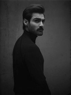 Hasnain Lehri Man Bun Styles, Hair And Beard Styles, Portrait Shots, Male Portraits, Mens Turtleneck, Beard Model, Gangsta Girl, Aesthetic Photography Nature, Photography Poses For Men