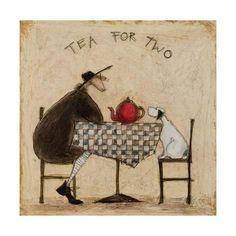 Tè per due Stampa giclée