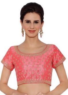 Buy some stylish blouse design with saree and look like atop in the cake.