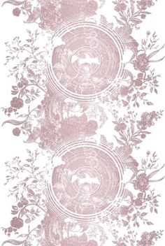 Tree of Life Solid Wallcovering by Timorous Beasties.