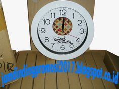 jual souvenir jam dinding promosi — Jual Jam Dinding Bagus