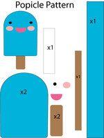 DIY Felt Popsicle - FREE Pattern