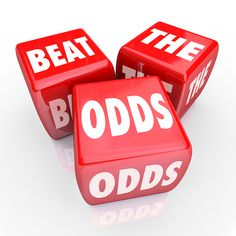 i beat the odds | Yes, you CAN beat the odds. You already did.