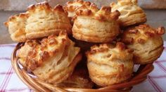 Hungarian Cuisine, Savory Pastry, Bread And Pastries, Russian Recipes, Sweet And Salty, Baked Potato, Biscuits, French Toast, Food And Drink