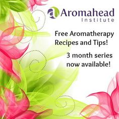 Get a weekly email with an aromatherapy recipe or tip for 3 months! Sign up here!