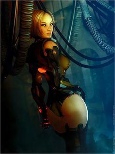 chick Sexy sci-fi