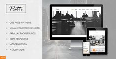 Buy Patti - Parallax One Page WordPress Theme by DeliciousThemes on ThemeForest. Patti is a modern and elegant One-Page WordPress Theme, perfect for creative people, suitable for any type of busi. Wordpress Template, Tema Wordpress, Premium Wordpress Themes, Ecommerce, First Web Page, Theme Forest, Theme Template, Responsive Layout, Site Internet