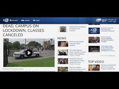 TEXAS SOUTHERN UNIVERSITY SHOOTING; 1 DEAD, CAMPUS ON LOCKDOWN, CLASSES CANCELED - YouTube