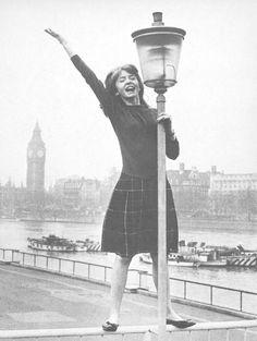 Jane Asher in London.