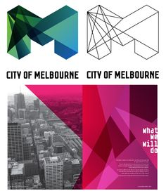 The crystalline, mathematical look of Melbourne's logo has become the holy grail of destination branding