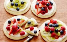 Individual Fruit Pizzas Recipe by Ree Drummond