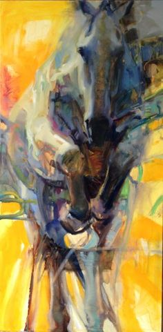 """Breakthrough: 48 x 24"""" oil on canvas Available:  Cross Gate Gallery"""