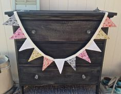 Arrow bunting by IvyandCompany on Etsy, $25.00