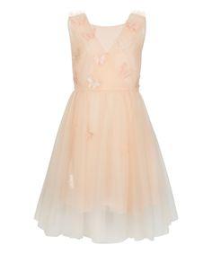 Ballerina Butterfly Dress | Orange | Monsoon