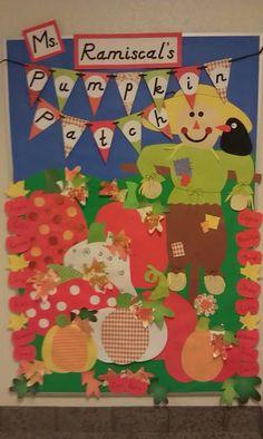 Pumpkin Patch Bulletin Board
