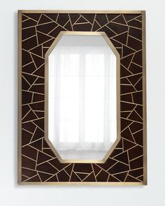 Shop Tangier Mirror from Global Views at Horchow, where you'll find new lower shipping on hundreds of home furnishings and gifts. Moroccan Mirror, Moroccan Home Decor, Moroccan Style, Mirrored Furniture, Borders And Frames, Floor Mirror, Mirror Mirror, Beveled Mirror, Diy Frame