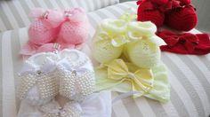 Lindos sapatinhos de bebê para as meninas   Quarto de bebê - Decoração, bebês, gravidez e festa infantil