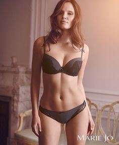Manon by Marie Jo - a nice twist on the little black number!