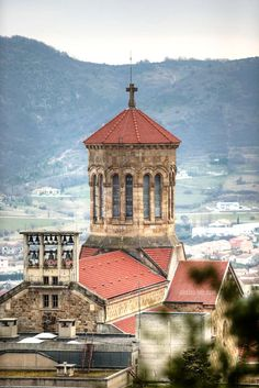 Bell Tower in Privas, France