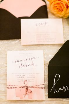 Print this invitation suite out! #invitations #weddinginvites #weddingchicks http://www.weddingchicks.com/2014/01/29/shabby-chic-barn-wedding/
