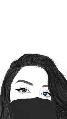 Cute black and white aesthetic wallpapers - top free cute black and Tumblr Girl Drawing, Tumblr Drawings, Girly Drawings, Outline Drawings, Tumblr Wallpaper, Girl Wallpaper, Disney Wallpaper, Eyes Wallpaper, Tumblr Outline