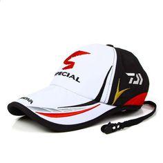 b4e3b8e75eb Adult Men Adjustable Fishing Daiwa Japanese Japan Sunshade Sport Baseball Fishermen  Hat Cap Black Special Bucket Hat With Letter