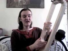 """▶ Anglo-Saxon poem """"Deor"""" with Lyre - YouTube"""