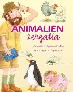 ERREFERENTZIA. Animalien zergatia / Consuelo Delgado.